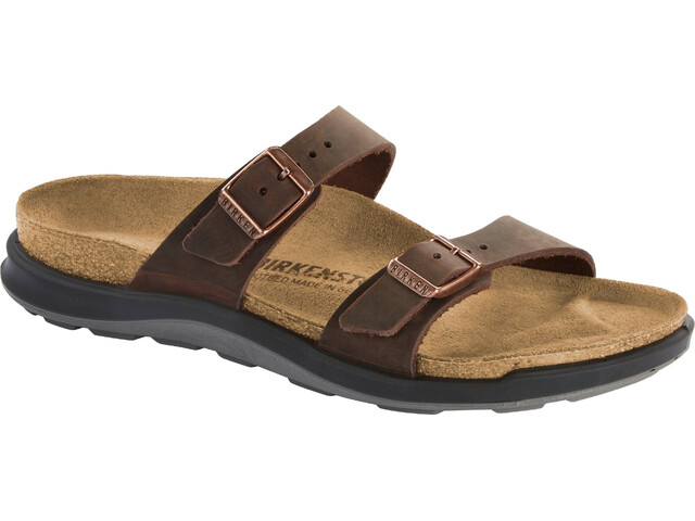 Birkenstock Sierra Sandals Oiled Leather Narrow Women, habana